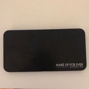 Make Up For Ever Single Eyeshadow Empty Palette